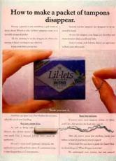 Image result for 1988 american tampon ads